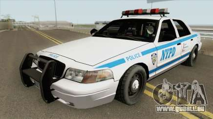Ford Crown Victoria - Police NYPD v2 pour GTA San Andreas