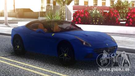 Ferrari California Blue für GTA San Andreas