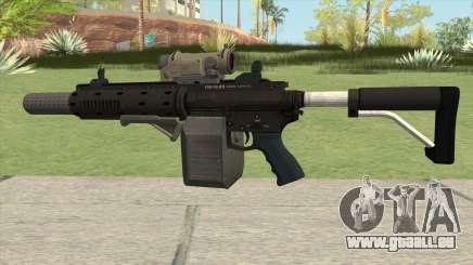 Carbine Rifle GTA V Complete Upgrades (Box Clip) pour GTA San Andreas