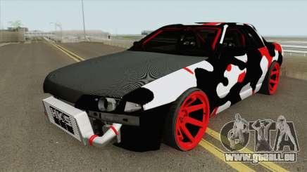 Nissan Skyline R32 Drift Camo pour GTA San Andreas