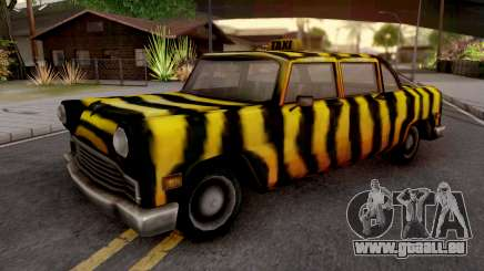 Zebra Cab from GTA VC pour GTA San Andreas