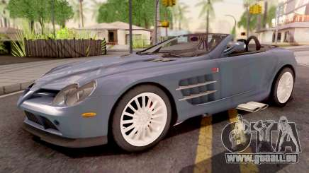 Mercedes-Benz SLR 722 Roadster pour GTA San Andreas