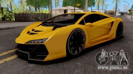 Pegassi Zentorno GTA 5 pour GTA San Andreas