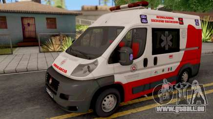 Fiat Ducato Ambulancia de Proteccion Civil für GTA San Andreas