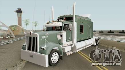 Kenworth W900 Extra Long Cab V2 pour GTA San Andreas