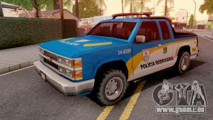 Chevrolet S-10 Policia Rodoviaria pour GTA San Andreas
