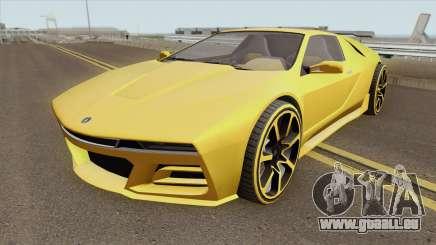 Ubermacht SC1 GTA V pour GTA San Andreas