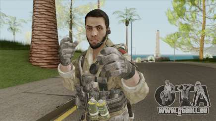 ISI Soldier V2 (Call Of Duty: Black Ops II) pour GTA San Andreas