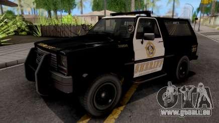 GTA IV Declasse Sheriff Rancher IVF pour GTA San Andreas
