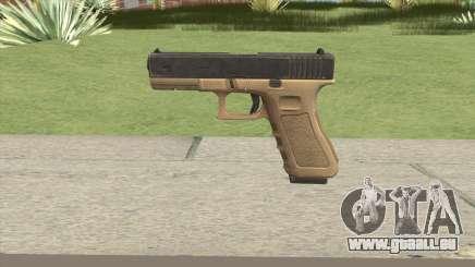 Glock 17 Tan für GTA San Andreas