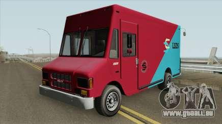 Brute Boxville GTA V IVF pour GTA San Andreas
