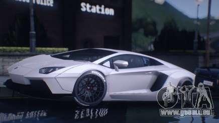 Lamborghini Aventador Coupe pour GTA San Andreas