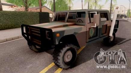Patriot Exercito Brasileiro v2 pour GTA San Andreas