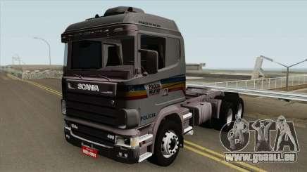 Scania 124G (Policia Militar) pour GTA San Andreas