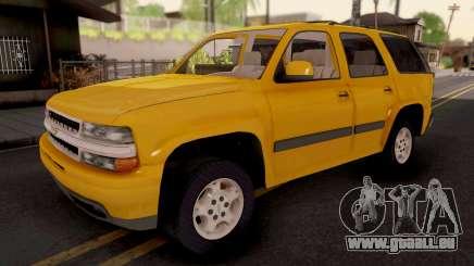 Chevrolet Tahoe 2000 pour GTA San Andreas