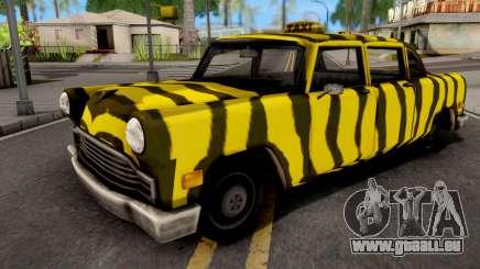 Zebra Cab GTA VC Xbox pour GTA San Andreas