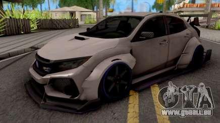 Honda Civic Type-R Grey pour GTA San Andreas