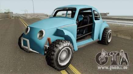 Volkswagen Fusca (Beetle) Baja SA Style V1 pour GTA San Andreas