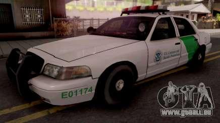 Ford Crown Victoria Border Patrol SA Style pour GTA San Andreas