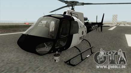 Police Maverick GTA V (SFPD Air Support Unit) pour GTA San Andreas