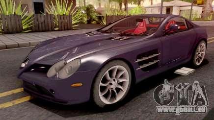 Mercedes-Benz SLR Violet pour GTA San Andreas