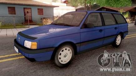 Volkswagen Passat B3 Variant Blue pour GTA San Andreas