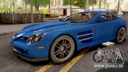 Mercedes-Benz SLR 722 Blue pour GTA San Andreas