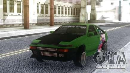 Toyota Corolla AE86 Coupe 1984 pour GTA San Andreas