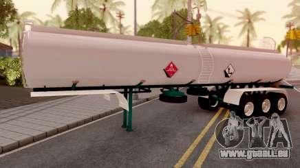 Carrotanque Trailer Colombiano pour GTA San Andreas