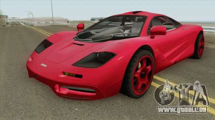 Mclaren F1 IVF für GTA San Andreas