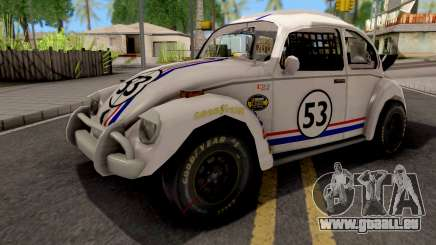 Volkswagen Herbie Nascar pour GTA San Andreas