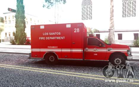 Ford F-250 Ambulance LSFD für GTA San Andreas
