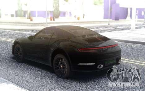 Porsche 911 Carrera 4s 992 pour GTA San Andreas