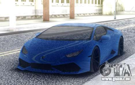 Lamborghini Huracan 3000HP DRAGTIMES pour GTA San Andreas