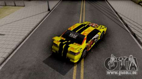 New Paint Job To Sultan pour GTA San Andreas