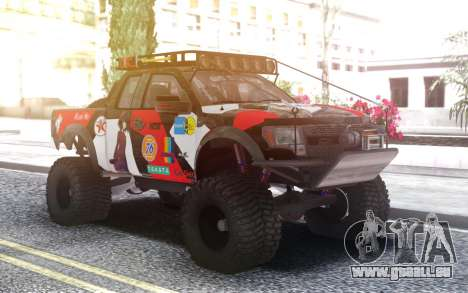 Ford Raptor F 150 pour GTA San Andreas