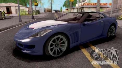 Invetero Coquette GTA 5 pour GTA San Andreas