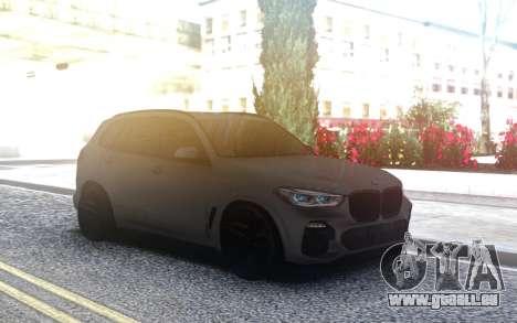 BMW X5 2019 pour GTA San Andreas
