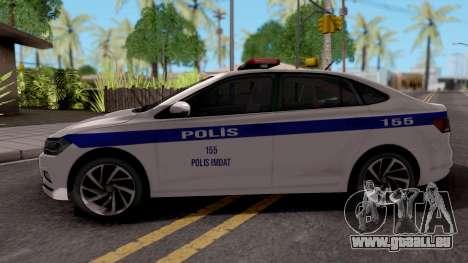 Volkswagen Polo TR Polis pour GTA San Andreas