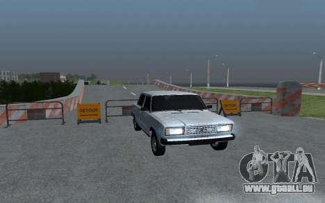 VAZ 2107 Oper Style pour GTA San Andreas
