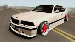 BMW E36 1998 Stance by Hazzard Garage für GTA San Andreas