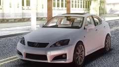 Lexus IS-F 2009 Civil pour GTA San Andreas