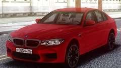 BMW M5 F90 TURBO pour GTA San Andreas