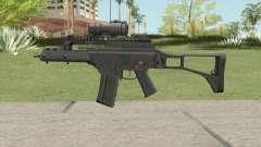 Firearm Source G36C With Aimpoint für GTA San Andreas