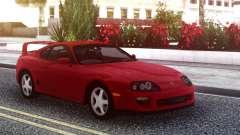 Toyota Supra Red Stock pour GTA San Andreas