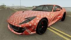Ferrari 812 Superfast (Supreme X Luis Vouitton) pour GTA San Andreas