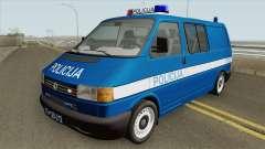 Volkswagen Transporter Mk4 Policija V2 1999 pour GTA San Andreas