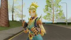 Strawops (Scarecrow Girl) From Fortnite für GTA San Andreas