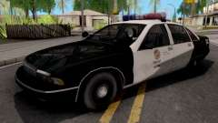 Chevrolet Caprice 1991 San Fierro Police pour GTA San Andreas