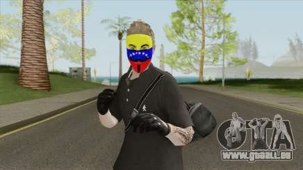 Piel Anonymous Venezuela pour GTA San Andreas